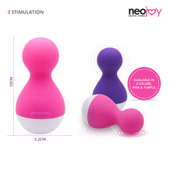 NeoJoy 7 Function Breast-Clitoris Stimulator - Pink