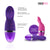 NeoJoy Ladyfinger Silicon Vibrator 9 Functions USB Rechargeable - Purple