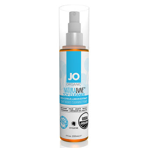 System Jo Organic Toy Cleaner Transparent Lubricant, 30-120 ml