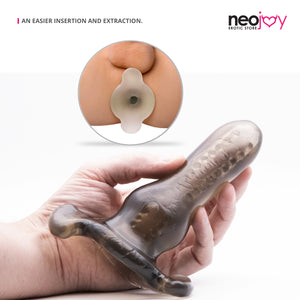 Neojoy Clear Butt Plug Silicone Classic Toy for Anal Play Comfy and Pleasant Insertion Butt Plugs - lucidtoys.com Dildo vibrator sex toy love doll
