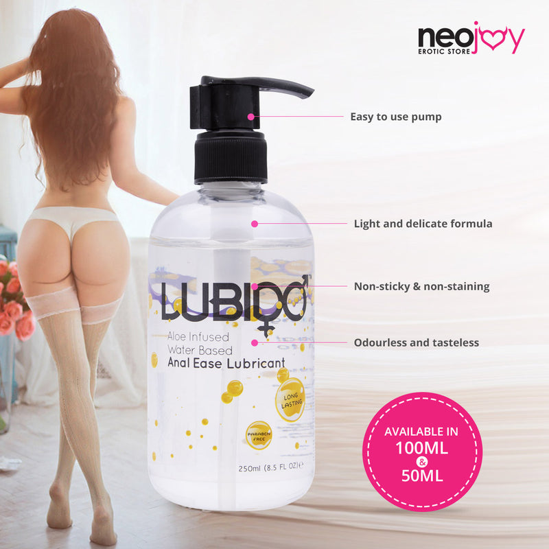 Anal Ease Lubido 250ml Bottle - Lubricant Lube For Anal Sex