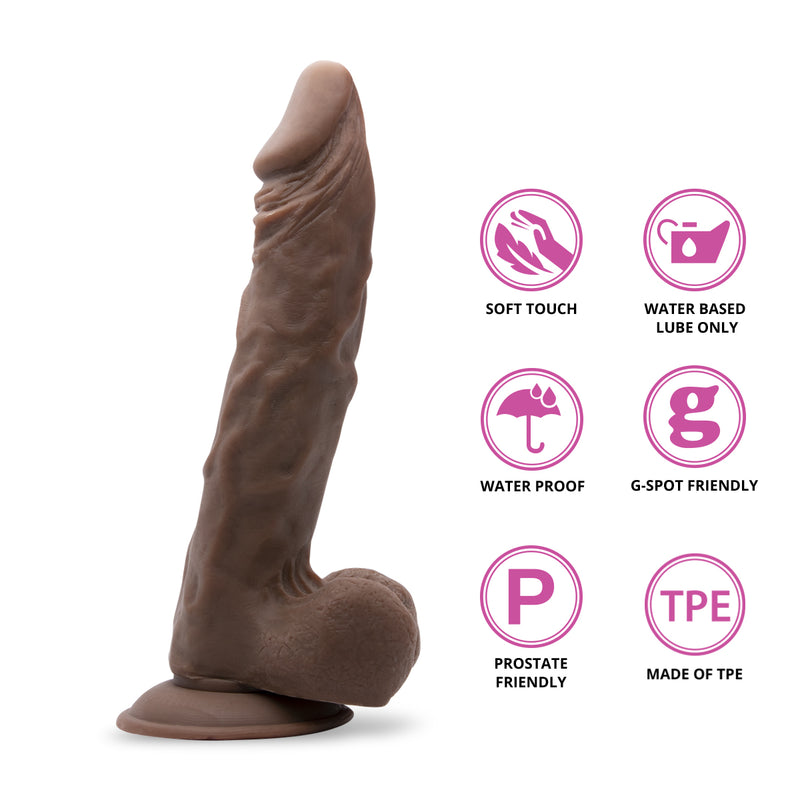 "Neojoy 9.8"" Ultra Realistic (Brown) Dong"