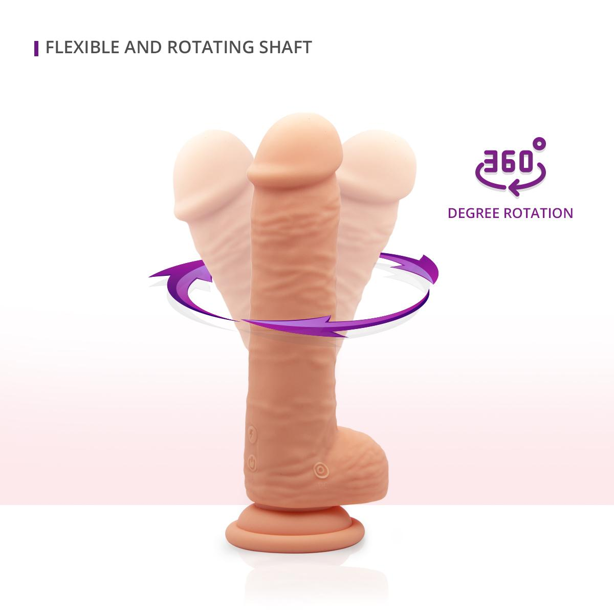 Neojoy - Mr. Vibes Skinlike Dong (Flesh) - lucidtoys.com