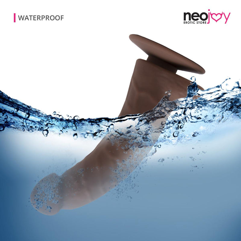 Neojoy Curved Stimulating Brown Dildo | Best Sex Toys for Women - Main