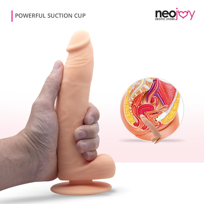 Realistic Dildo with Suction Cup | Bigshot Male Sex Toy | Neojoy - Main1