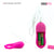 Neojoy Multi-Vibes 10 vibration speeds Silicone Clitoral Vibrator - Pink Clitoral Vibrators - lucidtoys.com Dildo vibrator sex toy love doll