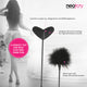 Neojoy Feather Fluffy Crop Tickler Double Ended With Silicone & Feathers - Black 16.14 inch - 41cm 6