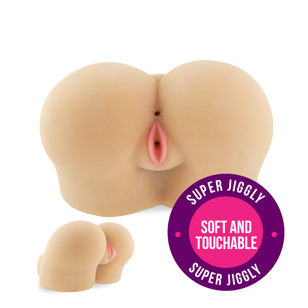 Neojoy Doggy Bum Sex Doll TPE Realistic Vagina & Ass - Small 4.6Kg
