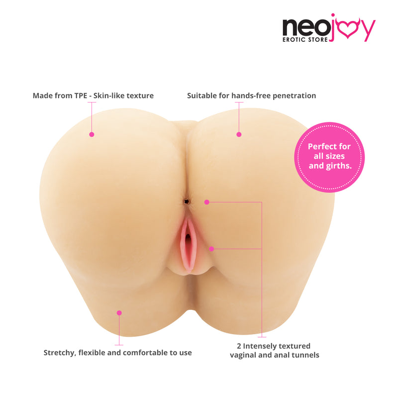 Neojoy Twerker Butt Sex Doll TPE Realistic Butt Ass & Pussy - large 10Kg
