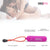 Neojoy Slim Bullet - Vibrating Bullet for Full-Body Massage - Beginners Sex Toy for Clitoral, Vaginal, Anal stimulation