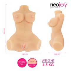 Neojoy - Candy Love Doll 4.5Kg Bundle Toy Cleaner Lube Penis Rings Sex Doll Kit