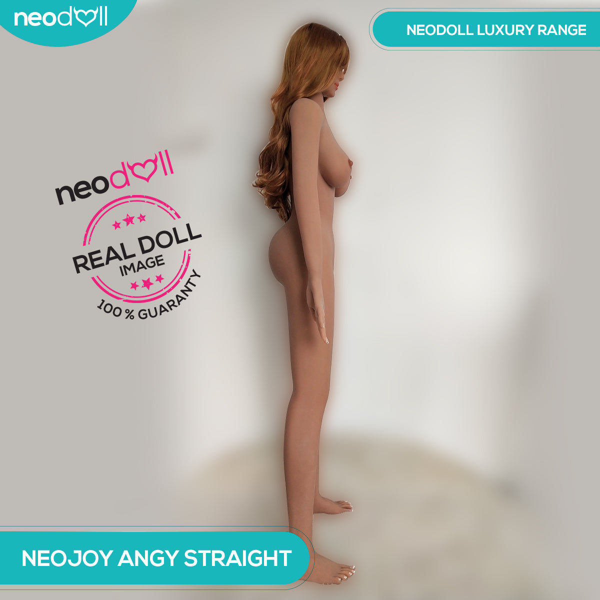 Neodoll Luxury Angy Straight - Realistic Sex Doll - 165cm