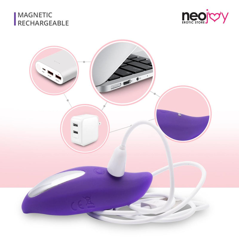NeoJoy Leaf Vibrator - Purple | 9 Functions