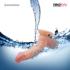 Neojoy - Lifelike super-real PVC Curved Dildo - 7.5 inch