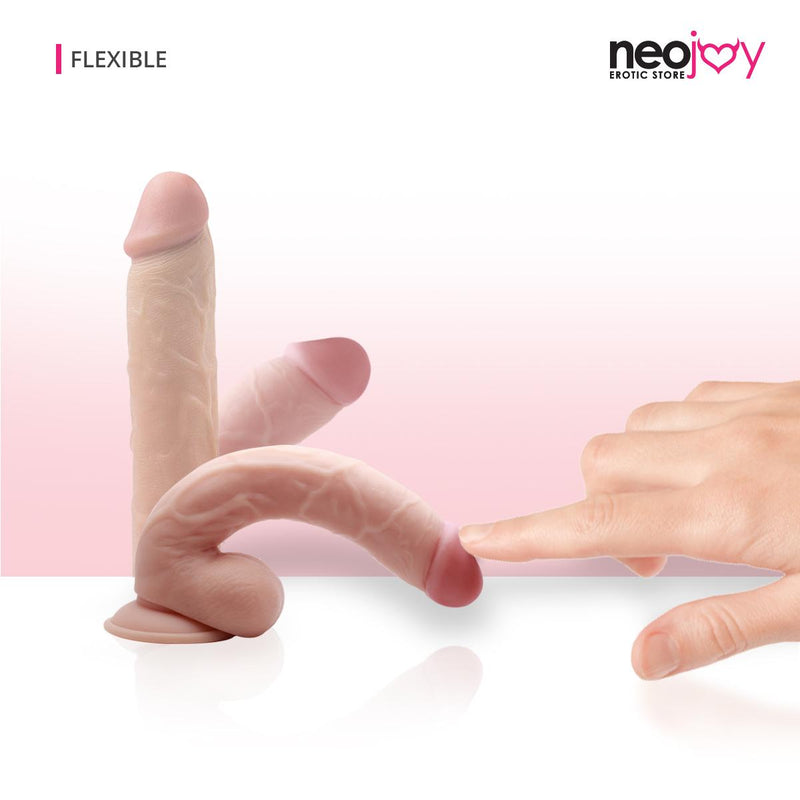 "Neojoy Real-Will Pink 11"" Dildo"