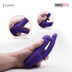 Neojoy Double Trouble Vibrator Purple