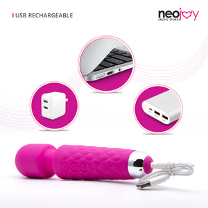 Neojoy Magic Mini-Wand vibe - Pink - lucidtoys.com