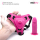 Neojoy Realistic Strap-Ons Dildo TPE with Suction Cup - Pink 4 inch - 11 cm 3