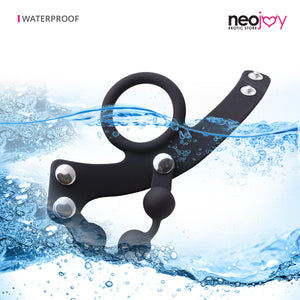 Bondage Cock ring | Adjustable Penis Ring Male Sex Toy | Neojoy - waterproof