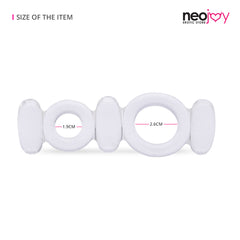 Neojoy Jelly Butterfly Double Ring