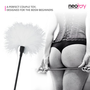Neojoy Feather white Tickler - white 14.96 inch - 38 cm 3