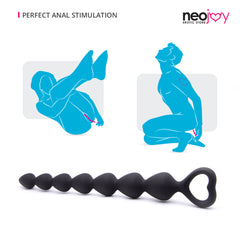 Neojoy Silicone Anal Beads Large