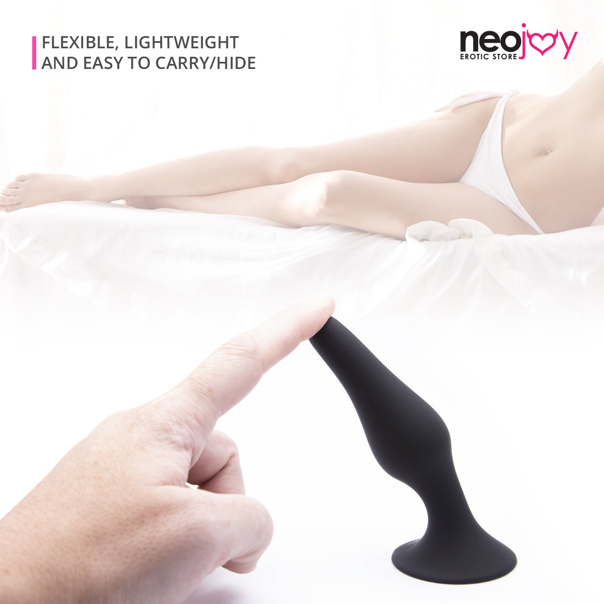 Neojoy - Slim Anal Butt Plug Medium Size