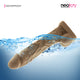 Neojoy - Veiny Realistic Dildo - Brown - 38cm - 15 inch