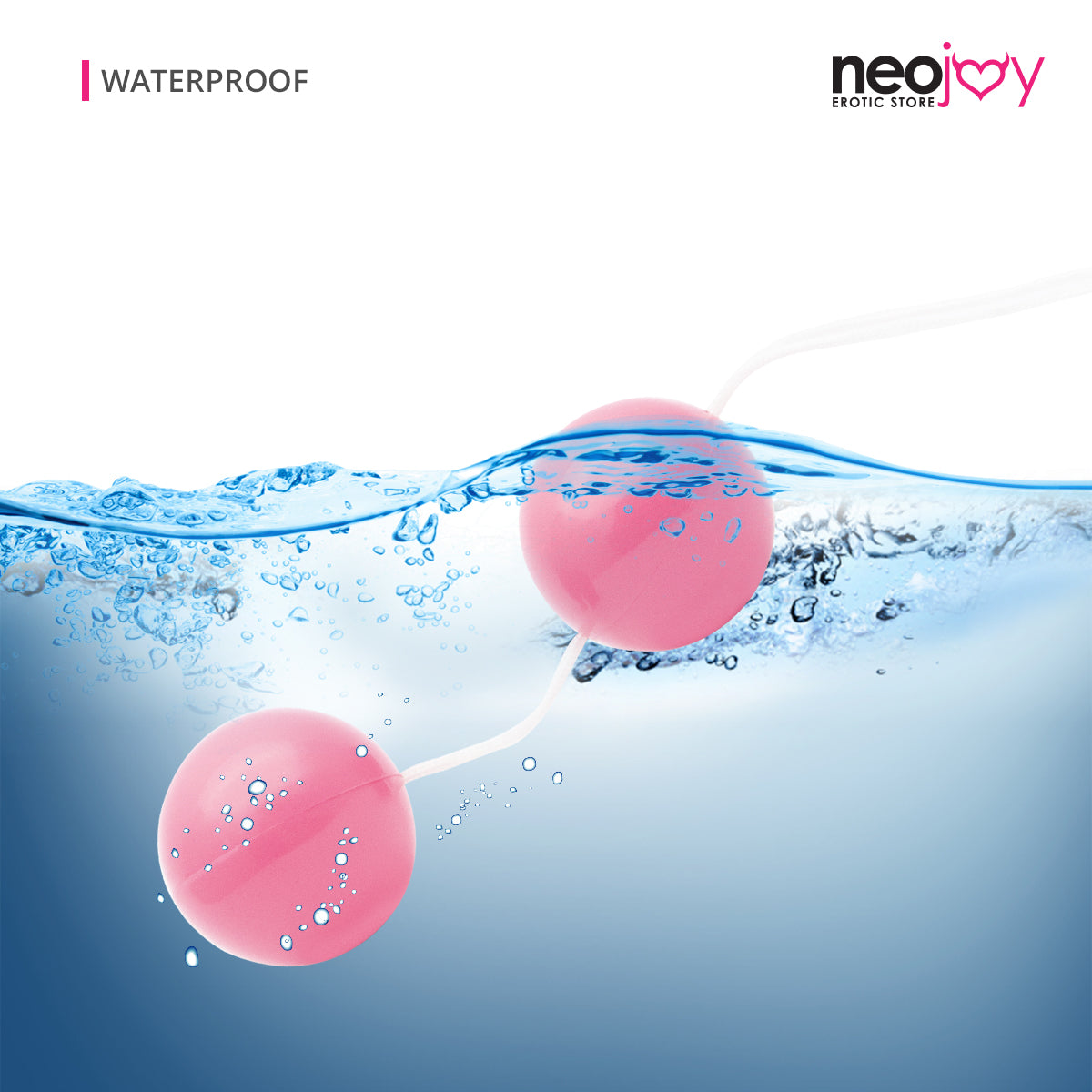 Neojoy Inserta-balls Geisha Balls for Pelvic Training - Exercise Weights Toy