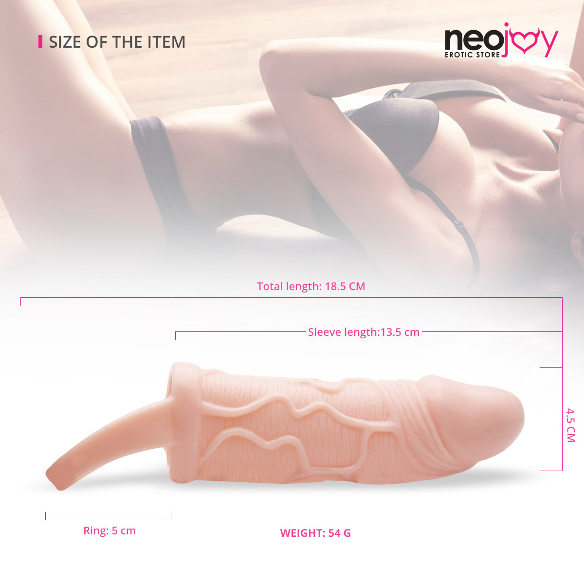 Neojoy Lenght Plus Penis Sleeves