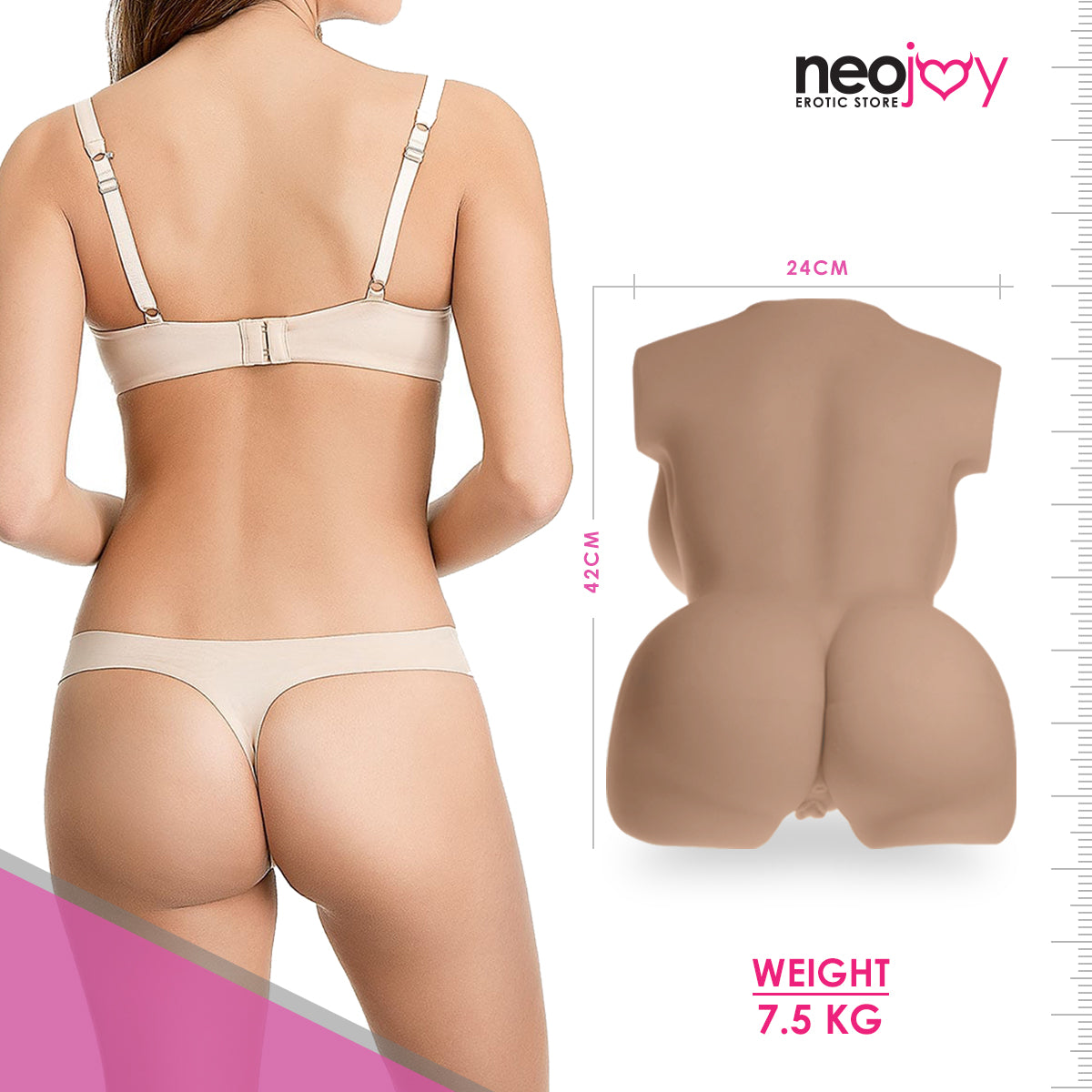 Neojoy Mary Jane Cute Sex Doll TPE with Realistic Butt & Vagina - Medium 7.2kg (Latino)