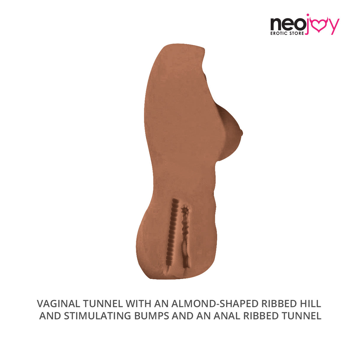 Nicki Sex Love Doll TPE with Realistic Ass and Vagina -Brown- Medium 5.5kg