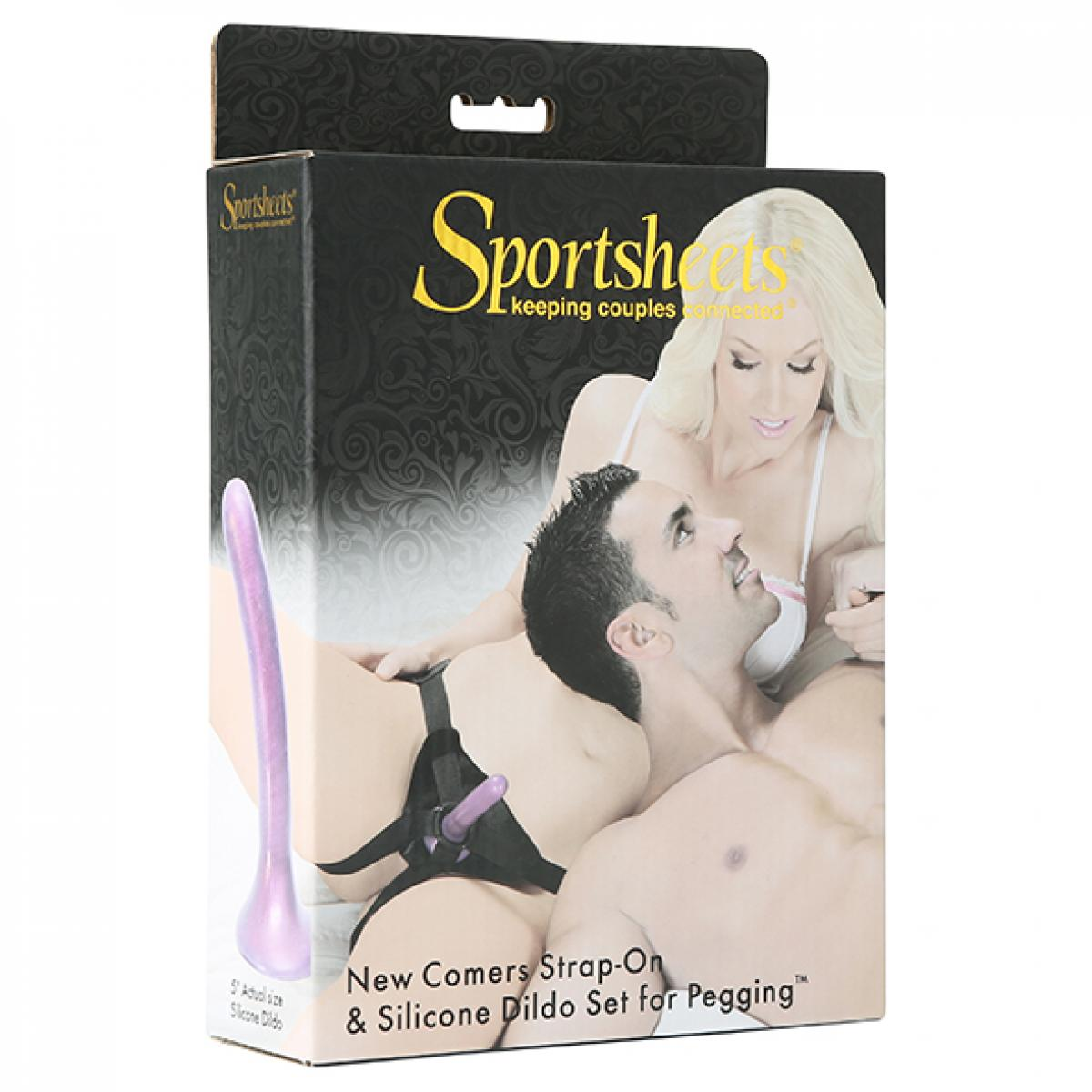 Sportsheets New Cummers Strap-On Dildo Kit - 13.33cm - 5.3 inch