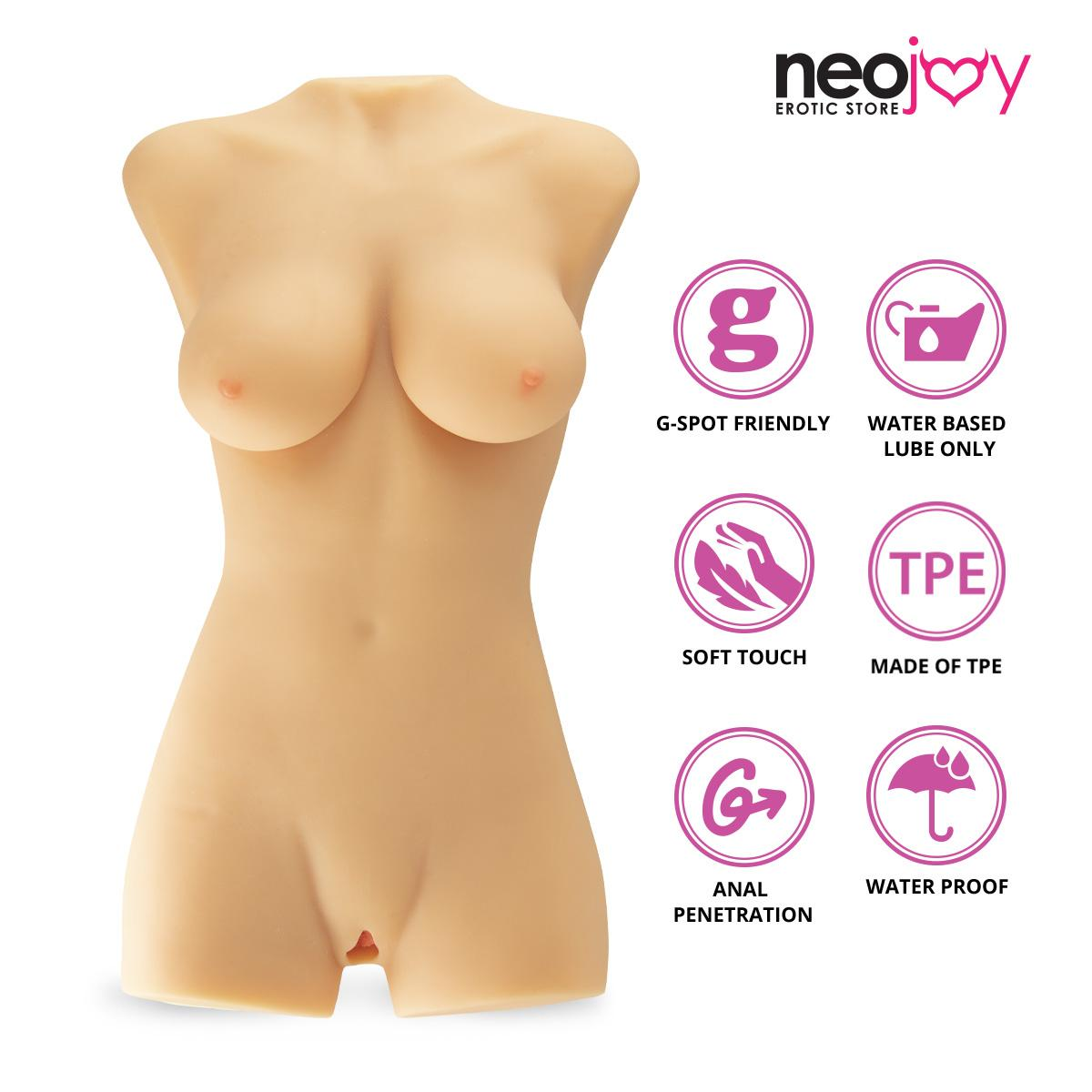 Neojoy Realistic Honey Love Doll  with Ass & Vagina TPE Flesh - Extra Large 22 Kg