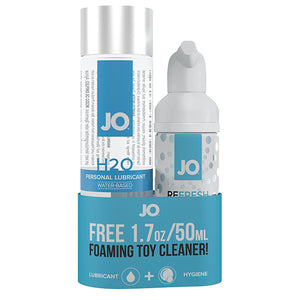 System JO - H2O Lubricant 120 ml & FREE Toy Cleaner 50 ml