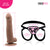 Neojoy - Daydream Realistic Dildo With Strap-On Dong - Brown - 22.3cm - 8.8 inch