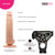 Neojoy - Bigshot Realistic Dildo With Strap-On Dong Harness - Flesh - 23.5cm - 9.3 inch