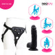 Neojoy - King Dildo With Strap-On Dong Harness - 21.34cm - 8.4 inch