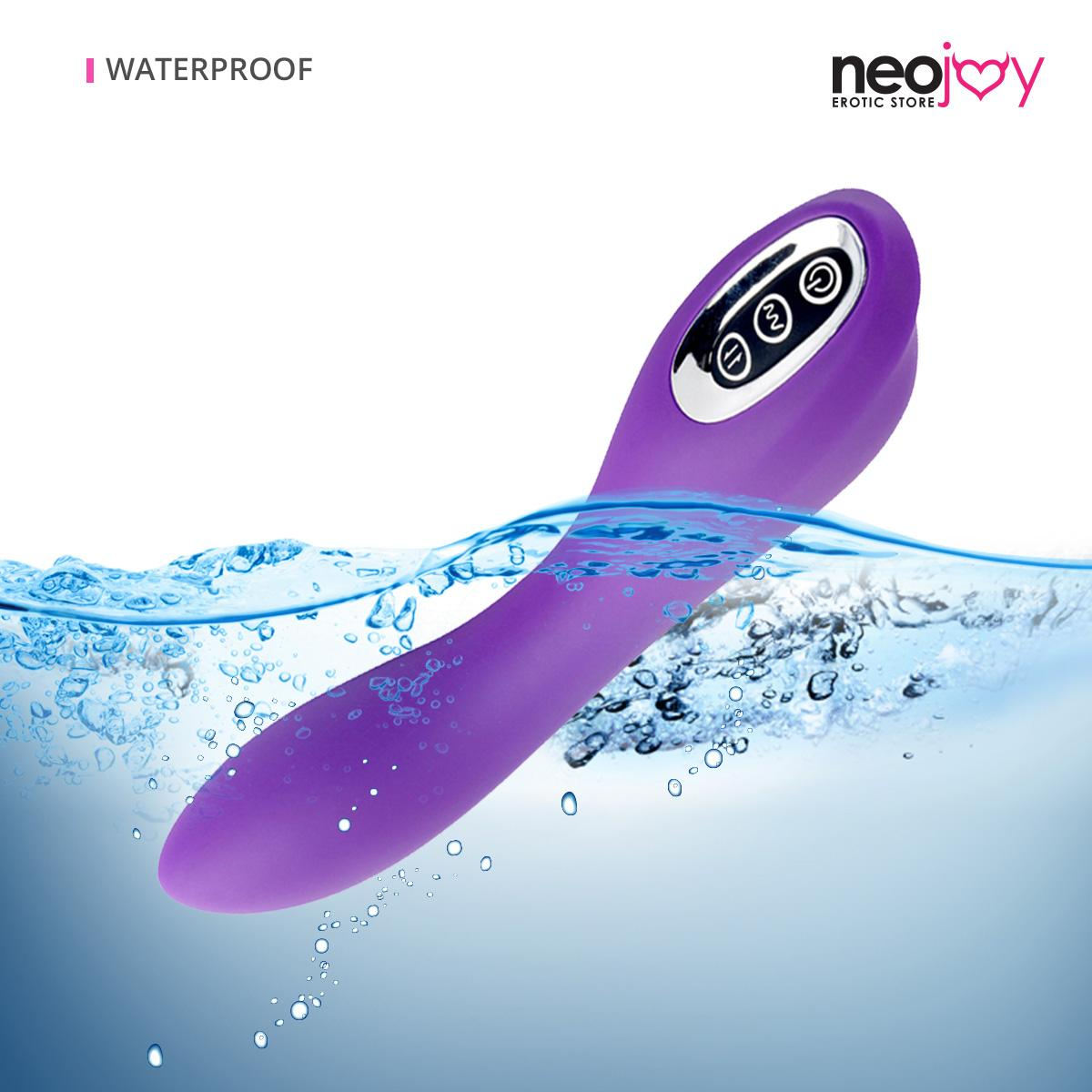 Neojoy G-Spot Roller Silicone Vibrator With Rolling Bead - Multi-Speeds Sex Toy