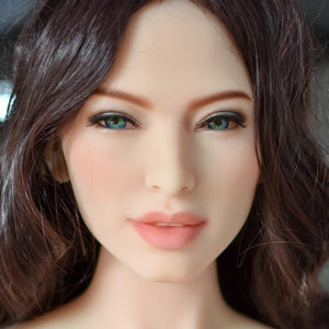 Neodoll Allure Shelby - Sex Doll Head - M16 Compatible - Tan