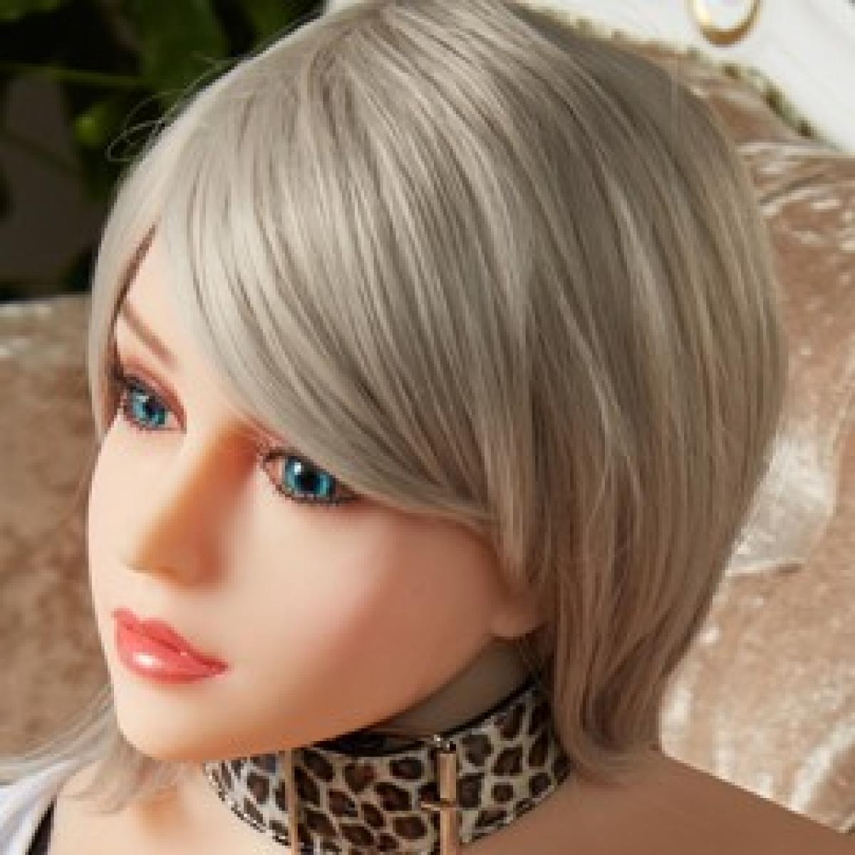 Allure Amani Head - Sex Doll Head - M16 Compatible - Natural