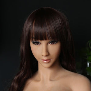 Neodoll Finest Catherine - Sex Doll Head - M16 Compatible - Tan
