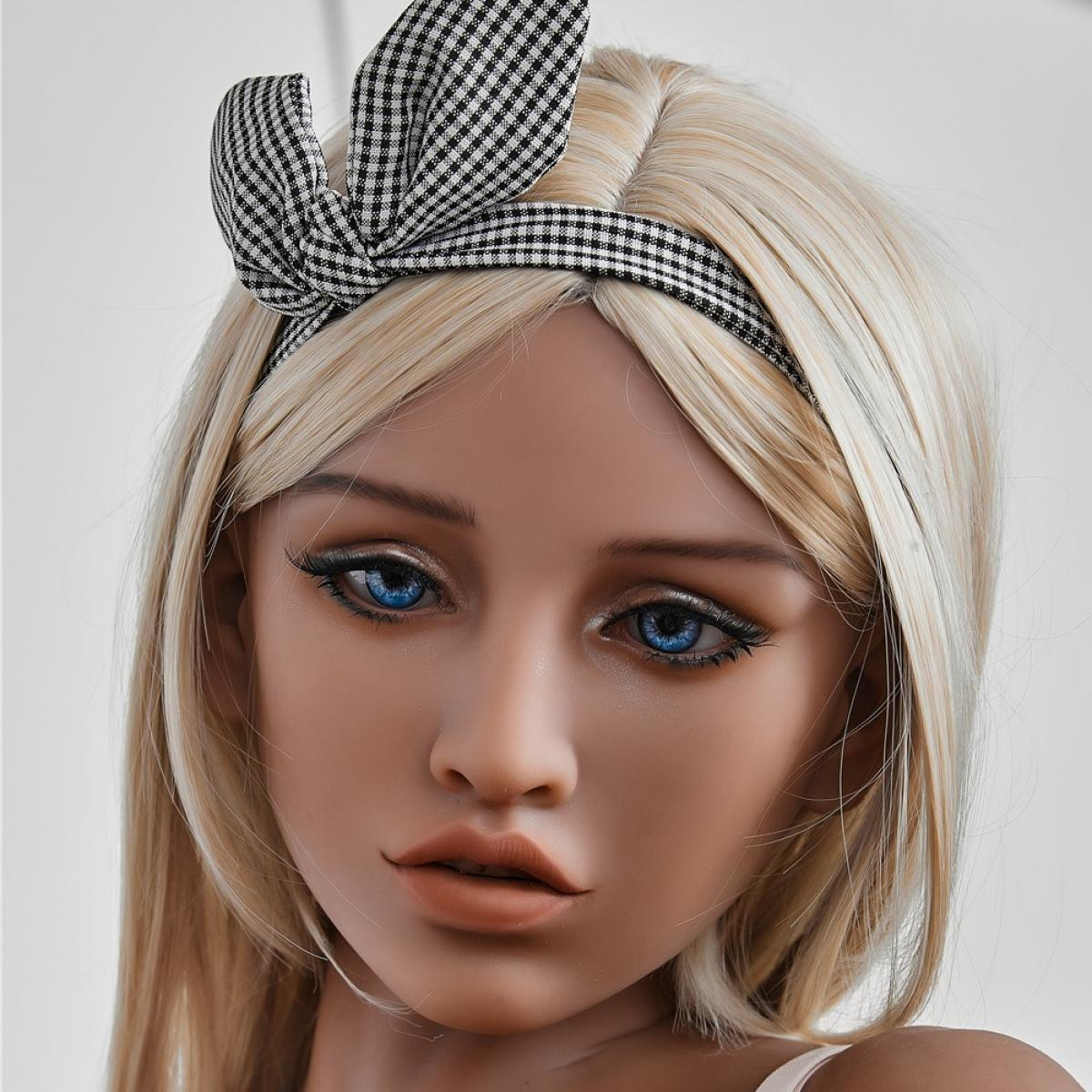 Neodoll Racy Victoria Head - Sex Doll Head - M16 Compatible - Tan