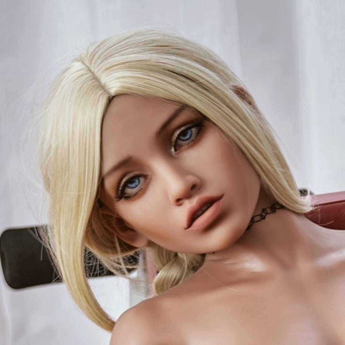 Neodoll Racy Victoria - Sex Doll Head - M16 Compatible - Brown