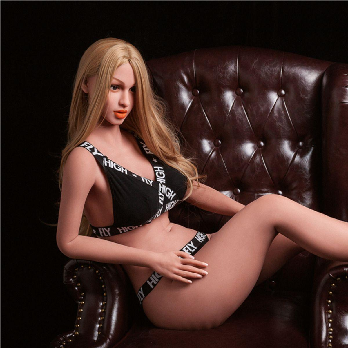 Neodoll Racy Anna - Realistic Sex Doll - 160cm - Brown