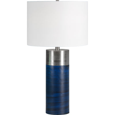Lampe de table bleu