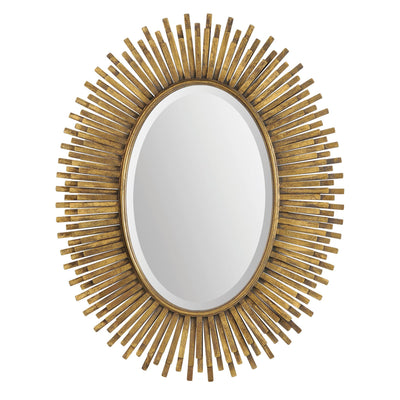 Miroir en or antique
