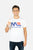 MITCH EVANS LOGO WHITE T-SHIRT