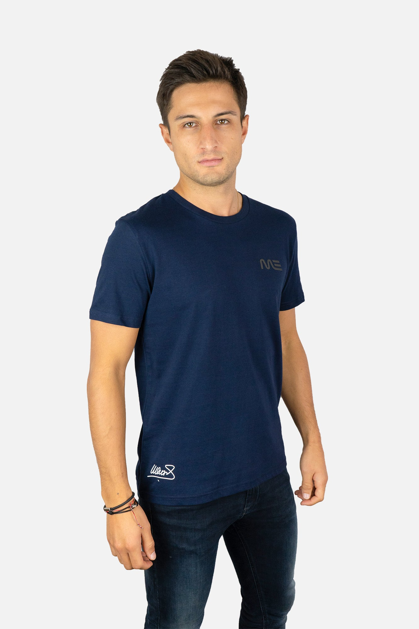 MITCH EVANS SIGNATURE NAVY T-SHIRT