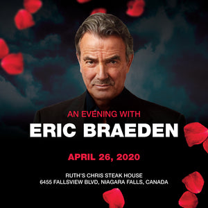 An Evening With Eric Braeden - April 26th, 2020 - VIP Admission